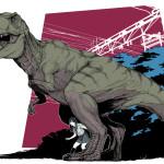 ROARING [Tyrannosaurus]